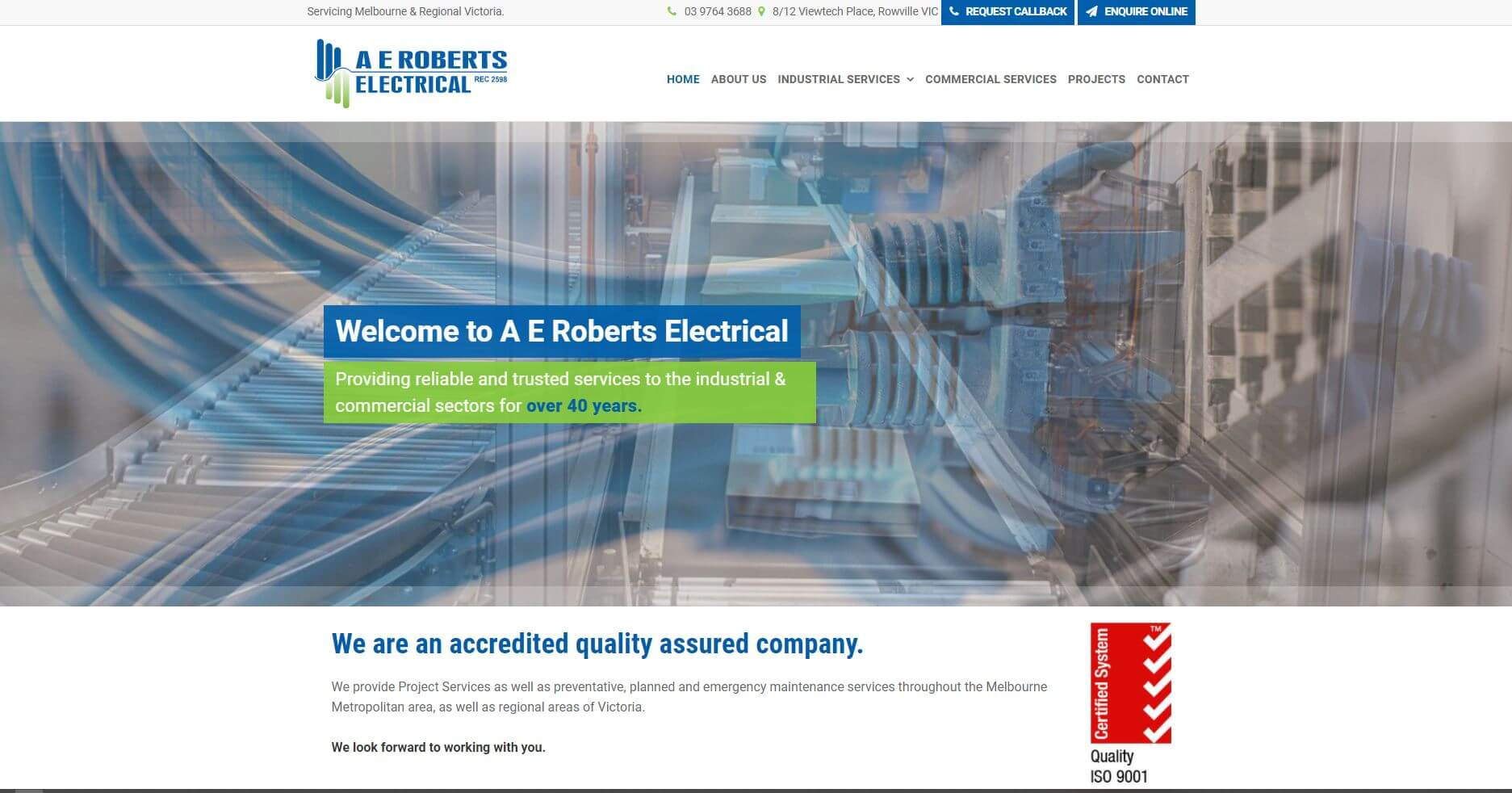 ae roberts electrical electricians in melbourne