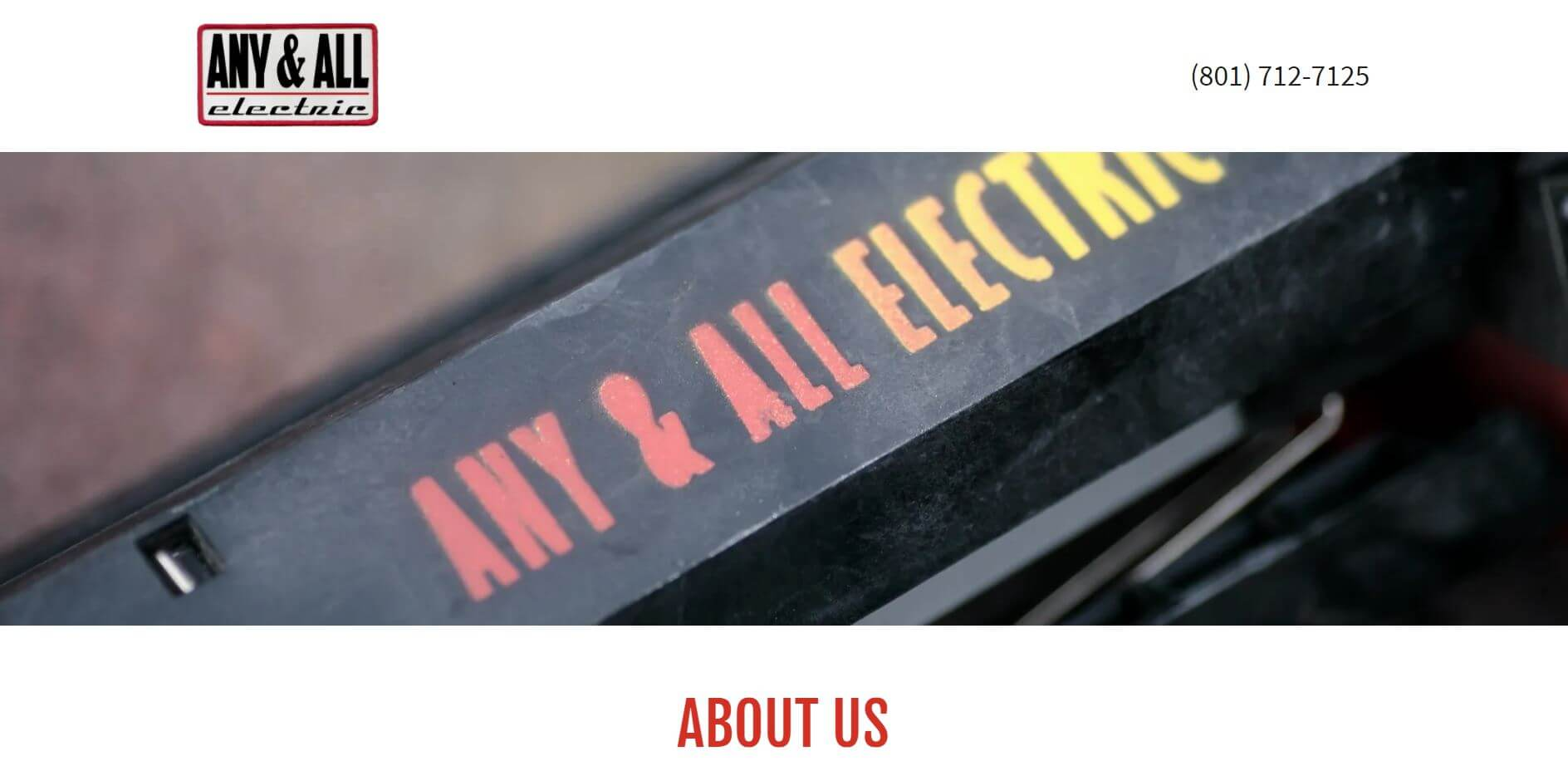 any and call electric electrician in salt lake city
