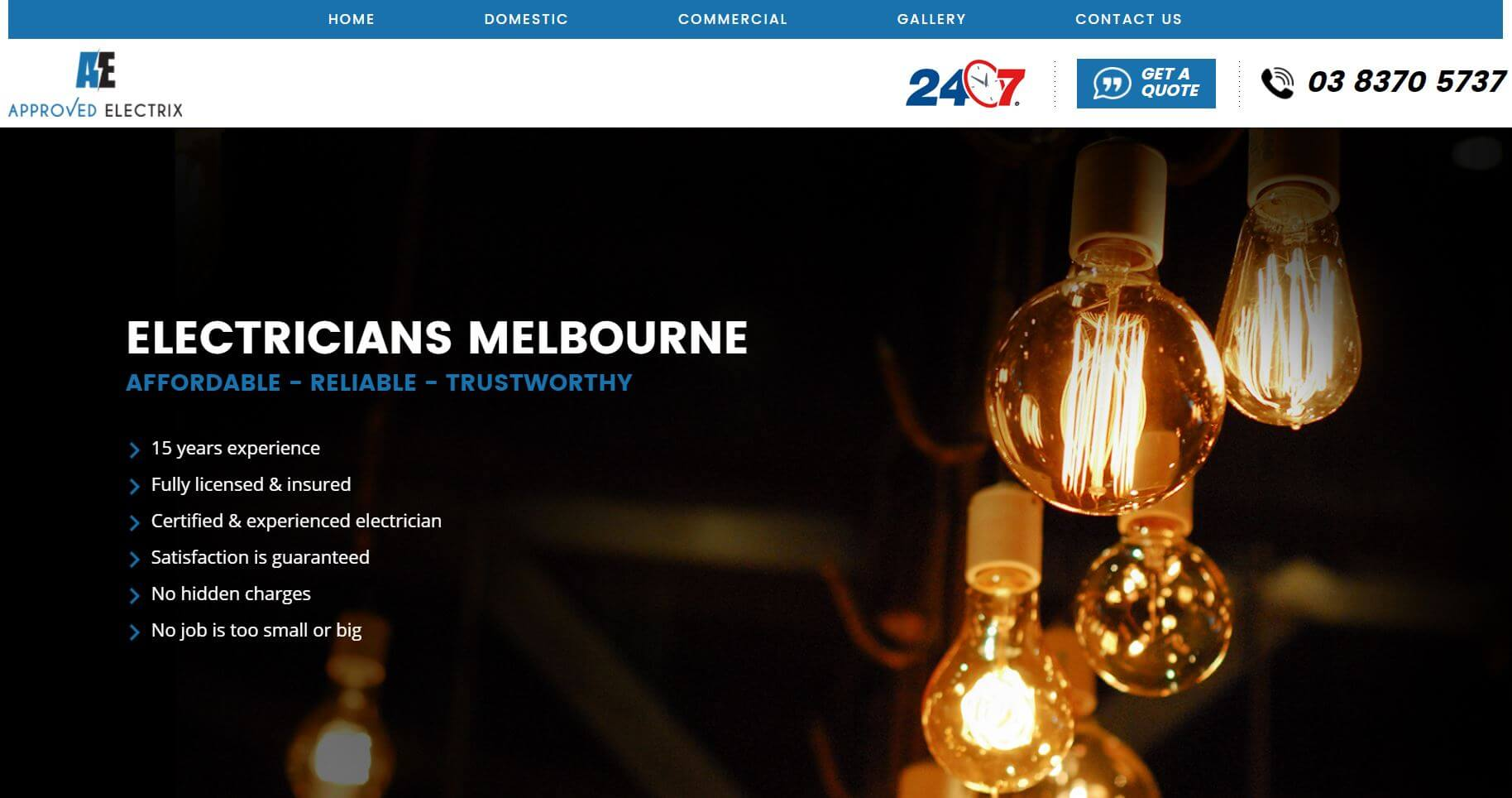 approved electrix electricians in melbourne
