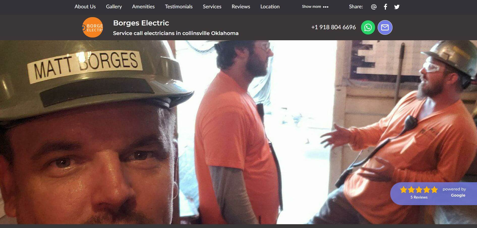 borges electric electrician in tulsa