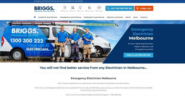 Briggs Electrical Data Solutions Electricians In Melbourne 1