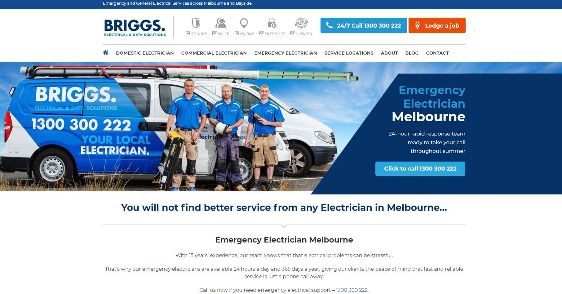 briggs electrical data solutions electricians in melbourne