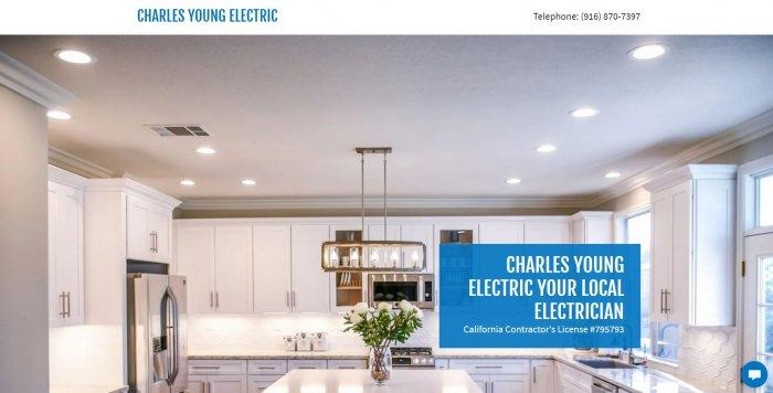 Charles Young Electric Electrician Sacramento