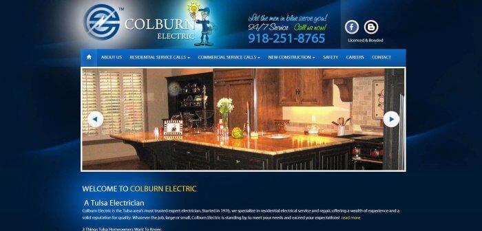 Colburn Electric Electrician In Tulsa