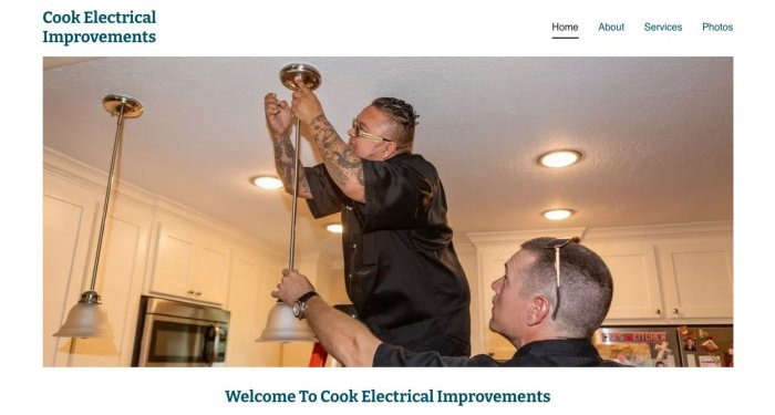 Cook Electrical Improvements Electricians Houston