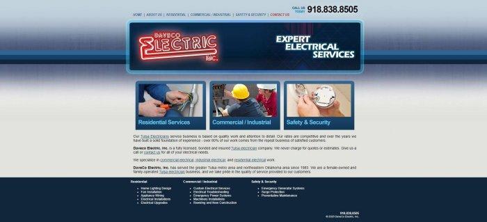 Daveco Electric Electrician Tulsa