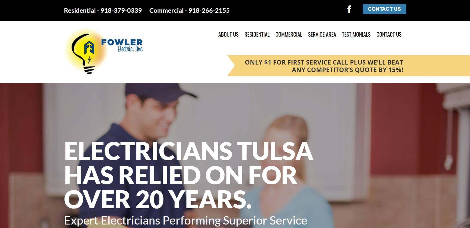 fowler electric electrician in tulsa 1