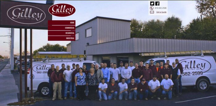 Gilley Electric Electrician Tulsa