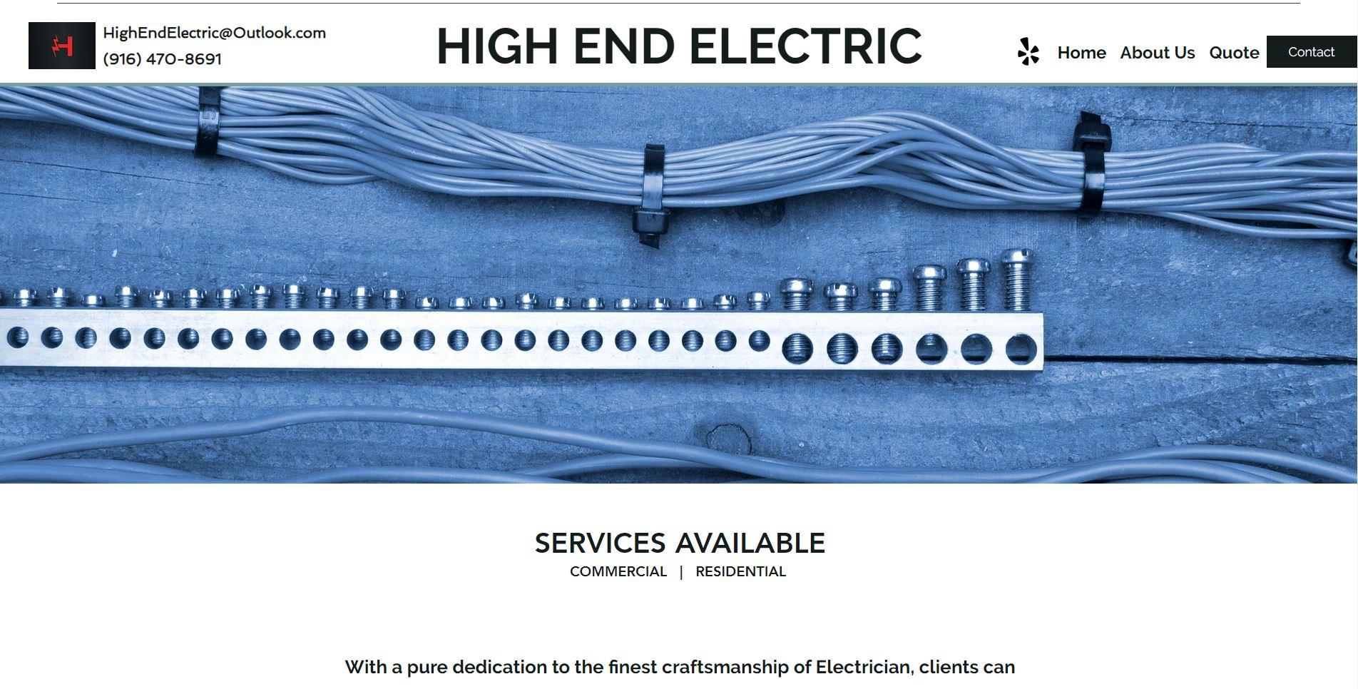 high end electric electrician in sacramento 1