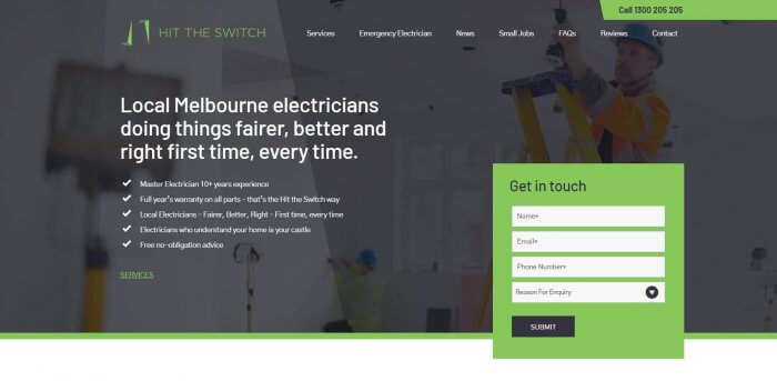 Hit The Switch Electricians In Melbourne 1