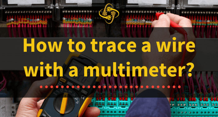 how to trace a wire with a multimeter