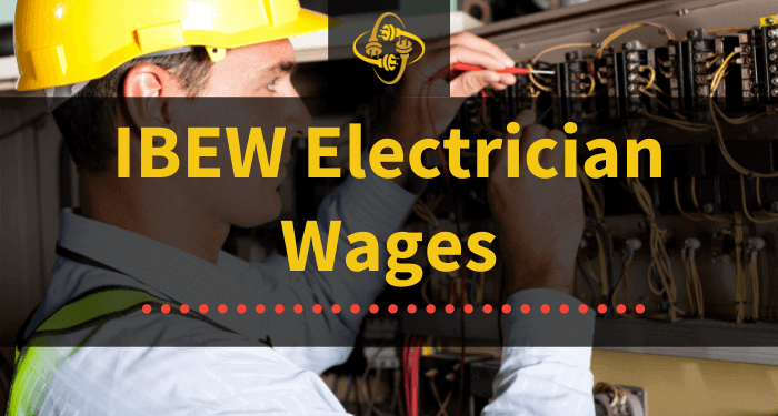 ibew electrician wages