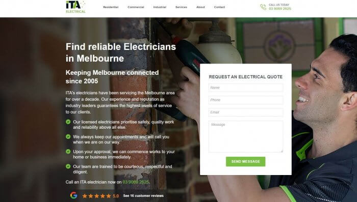 Ita Electricians Electricians In Melbourne 1