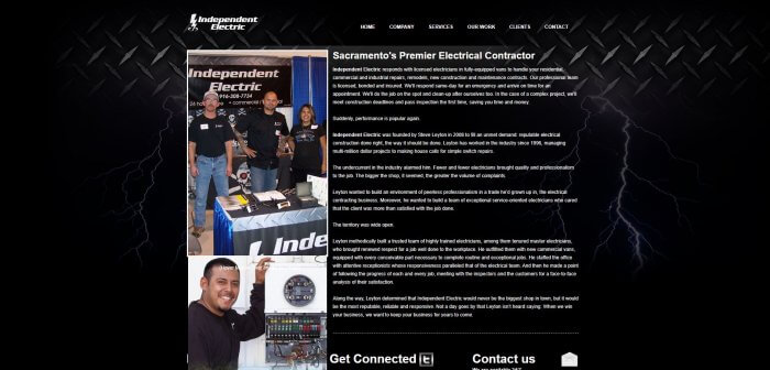 Indepenndentn Electric Electrician In Sacramento