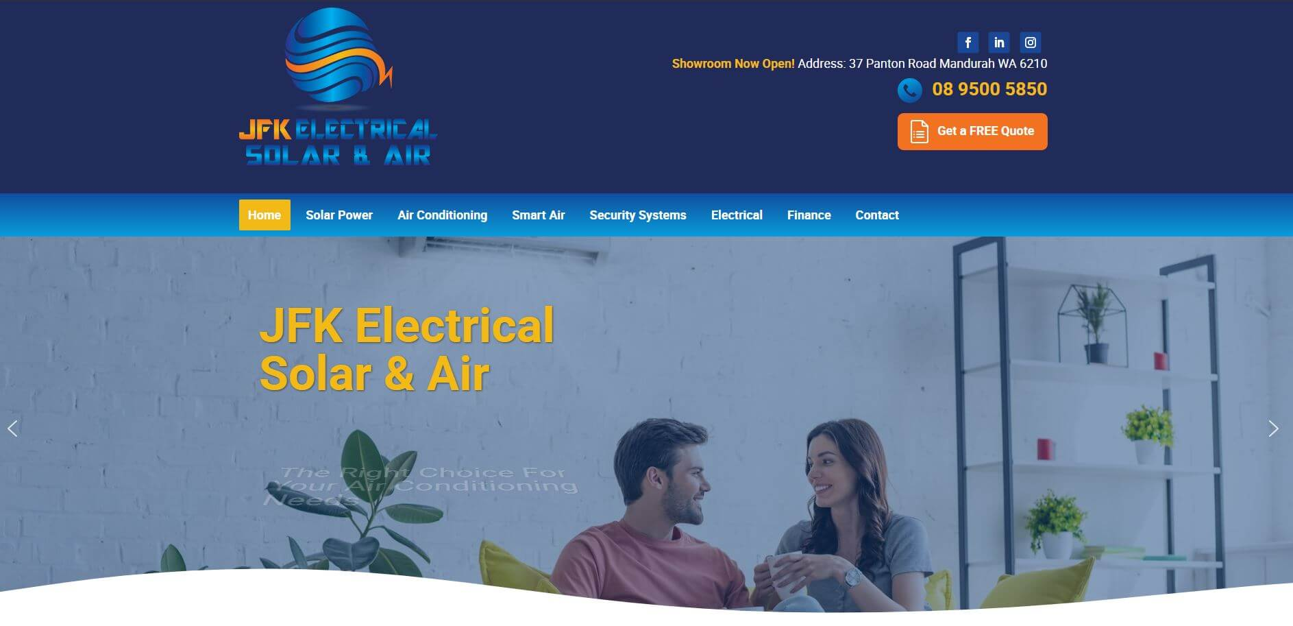 jfk electrical solar air electricians in perth