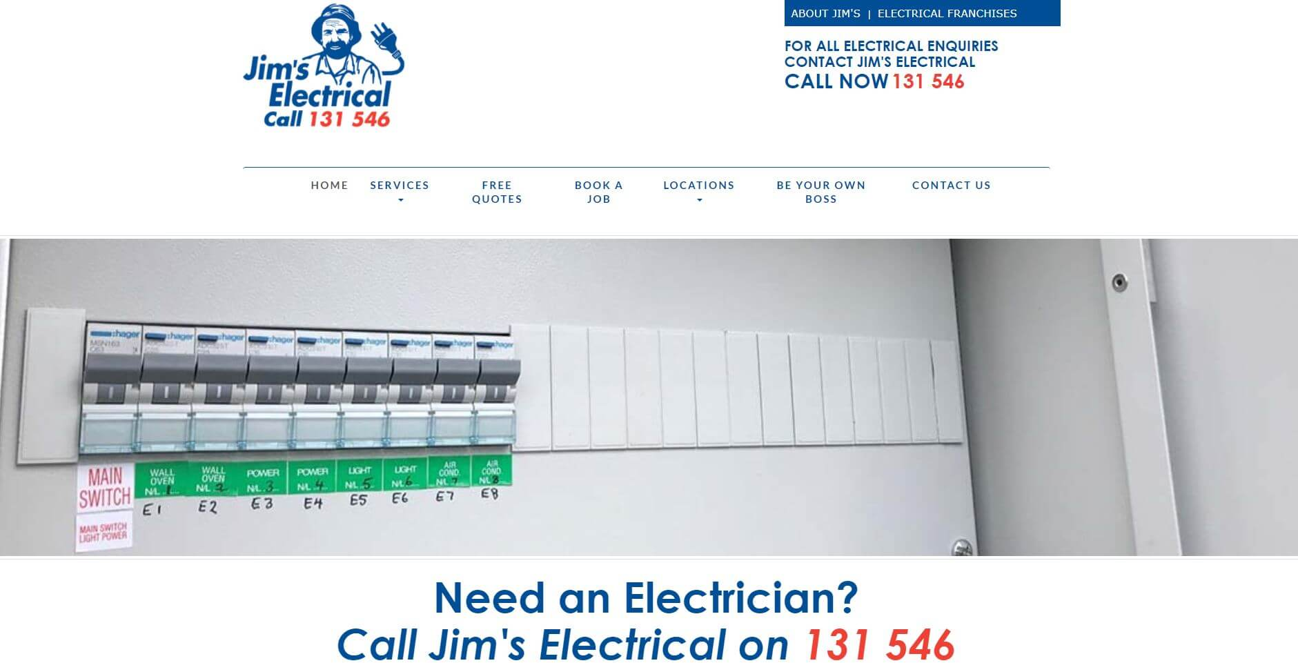 jim s electrical best electricians in perth