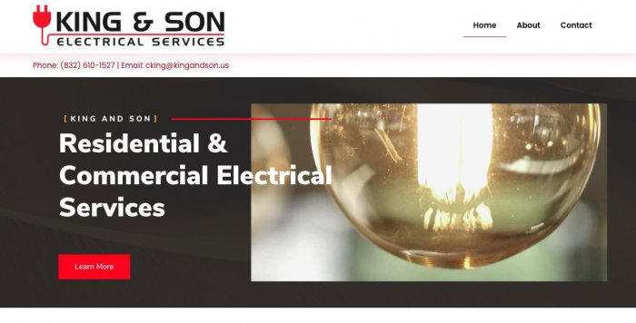 King Son Electrical Services Electrician Houston 1