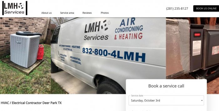 Lmh Services Electrician Houston