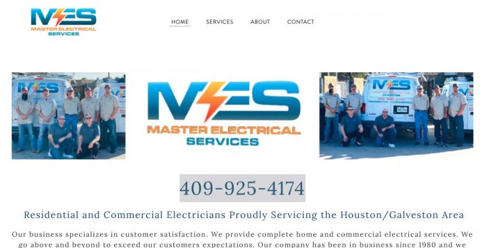 Master Electrical Services Electrician Houston