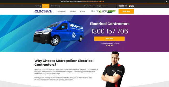 Metropolitan Electrical Contractors Electricians In Melbourne