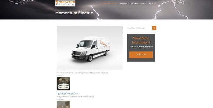 Momentum Electric Electrician Salk Lake City 1