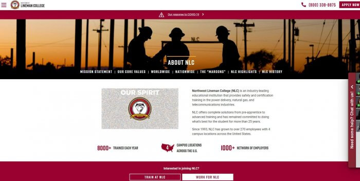 Northwest Lineman College Lineman Schools Usa