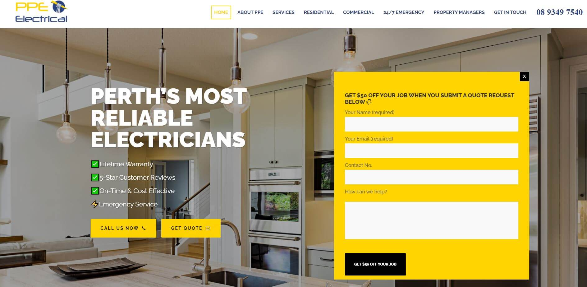 ppe electrical electricians in perth