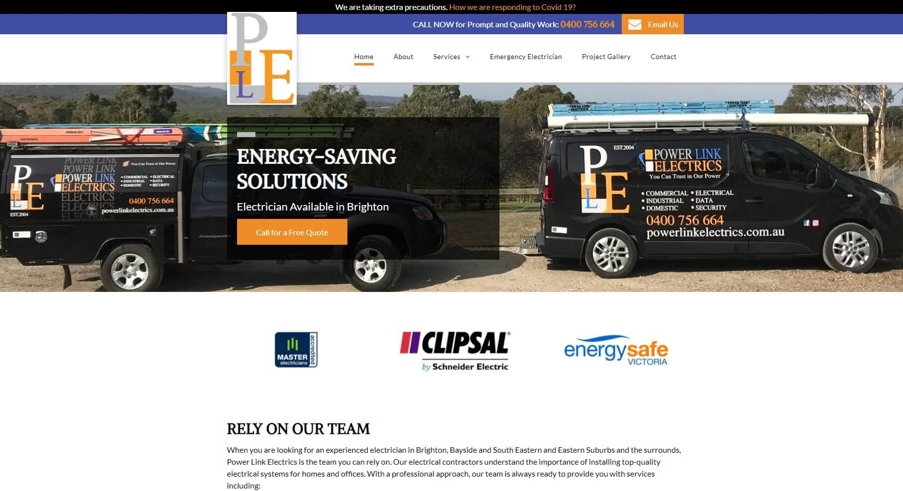 power link electrics electricians in melbourne