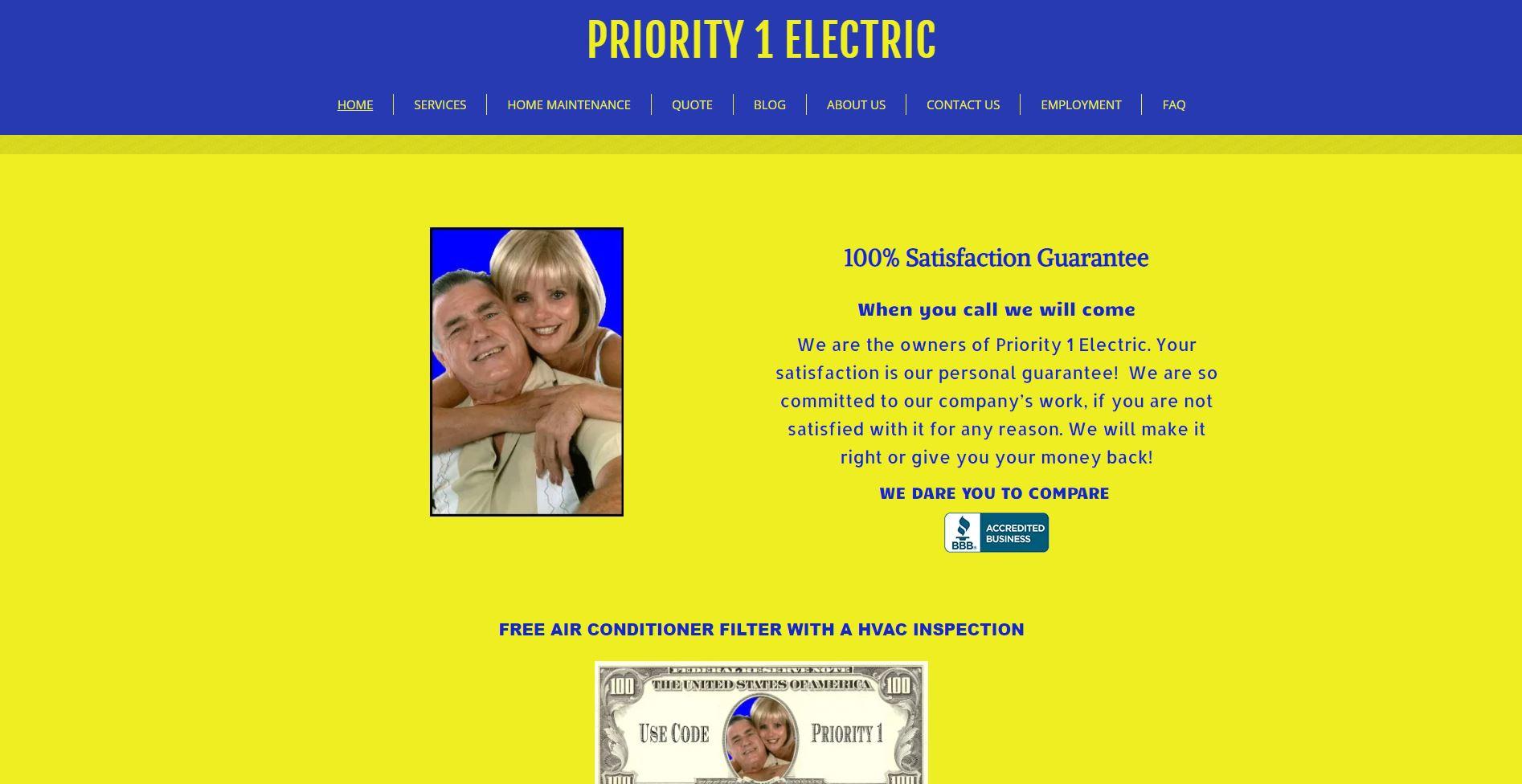 priority 1 electric electrician sacramento 1