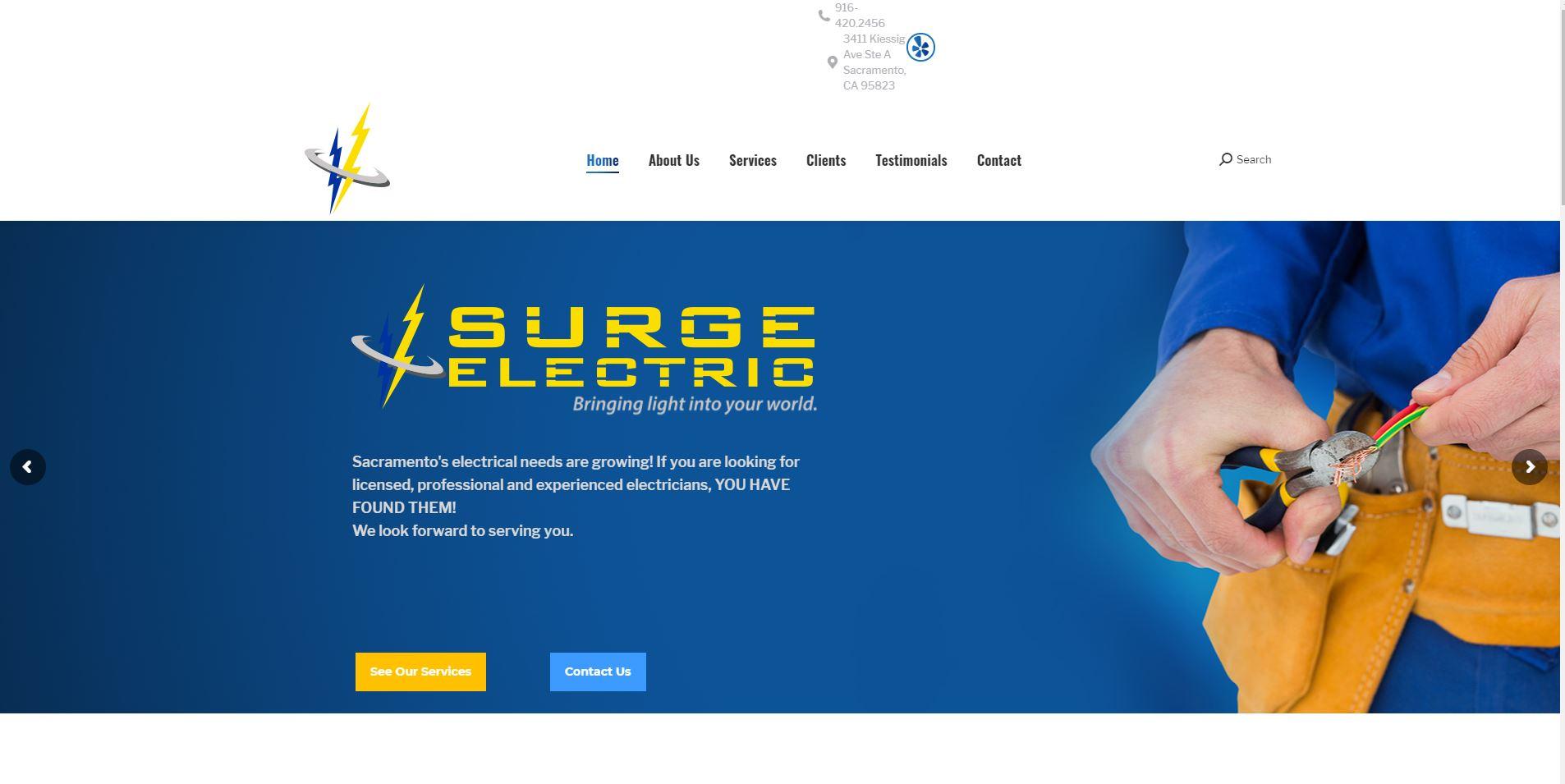surge electric electrician sacramento 1