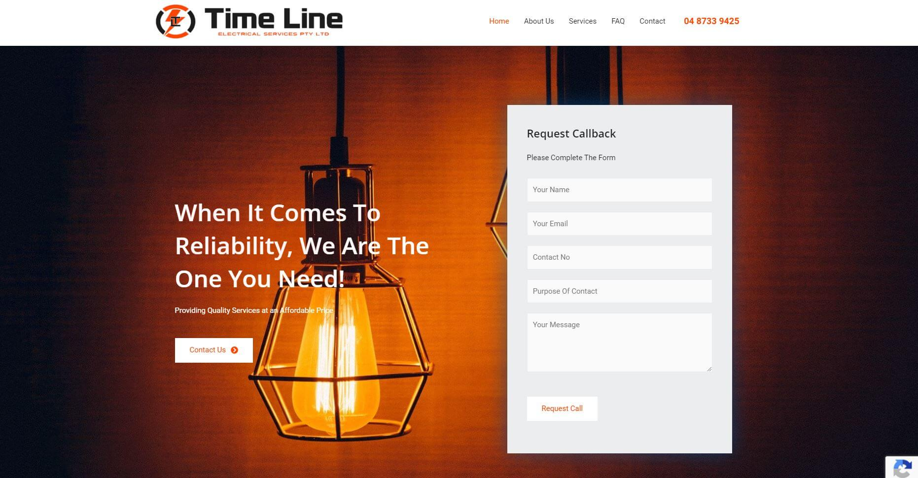 time line electrical services electricians in perth