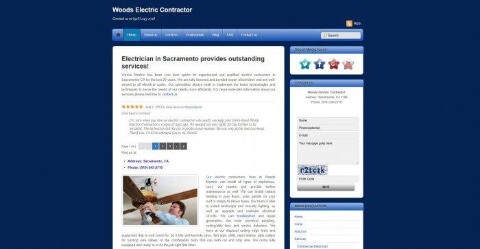 Woods Electric Contractor