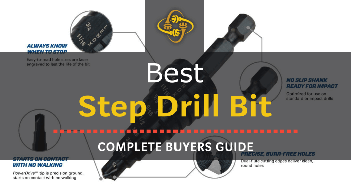 Best Step Drill Bit