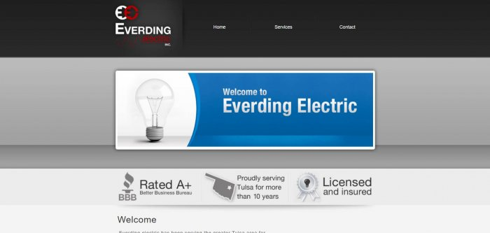 Everding Electric Electrician In Tulsa