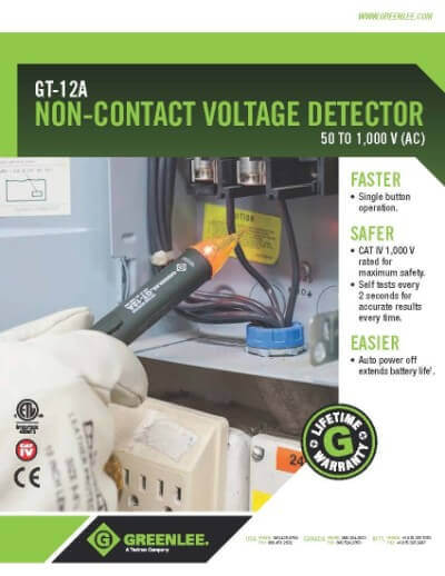 Greenlee Non Contact Voltage Tester