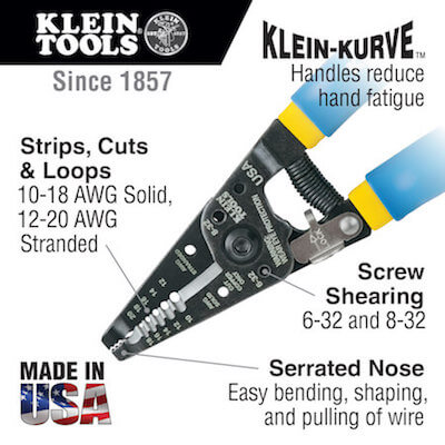 Klein Wire Cutters Made in USA